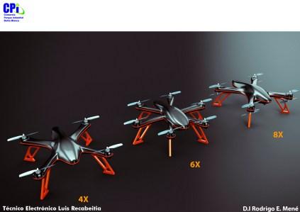 Drone parque industrial