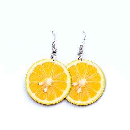 Pendientes Limones