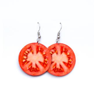 Pendientes Tomates