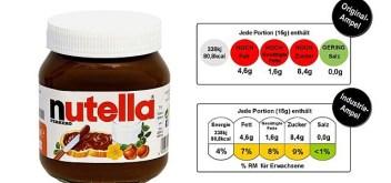 Nutella Lebensmittelampeln Foodwatch Nestle Coca Cola Unilever