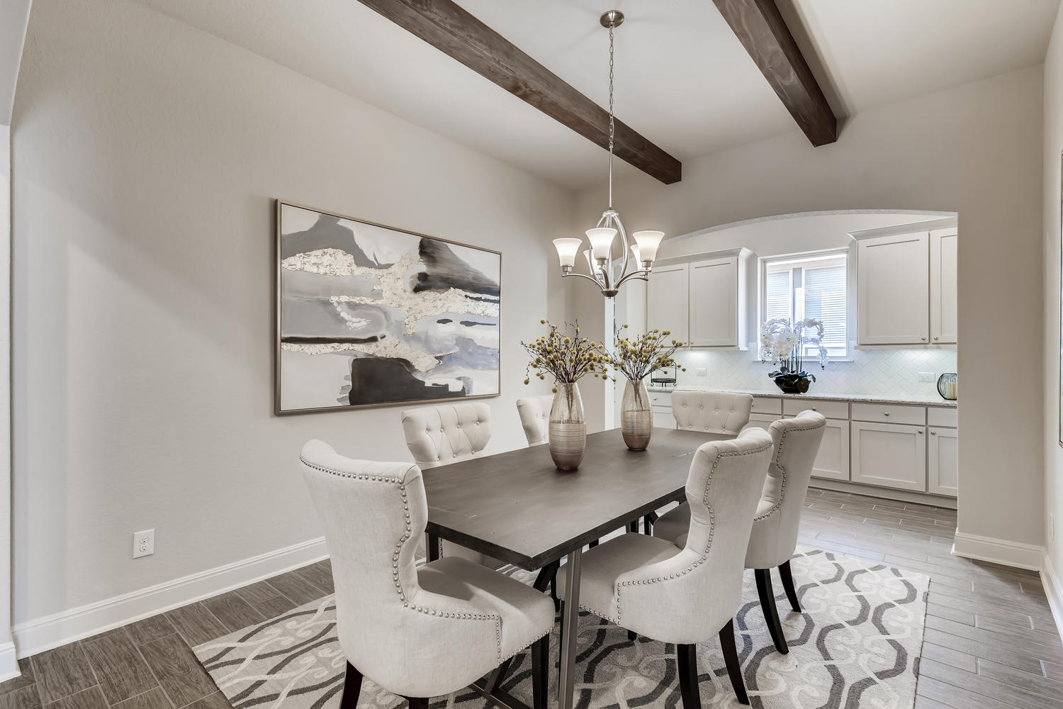 Full home staging in Las Vegas, Nevada, featuring a dining room