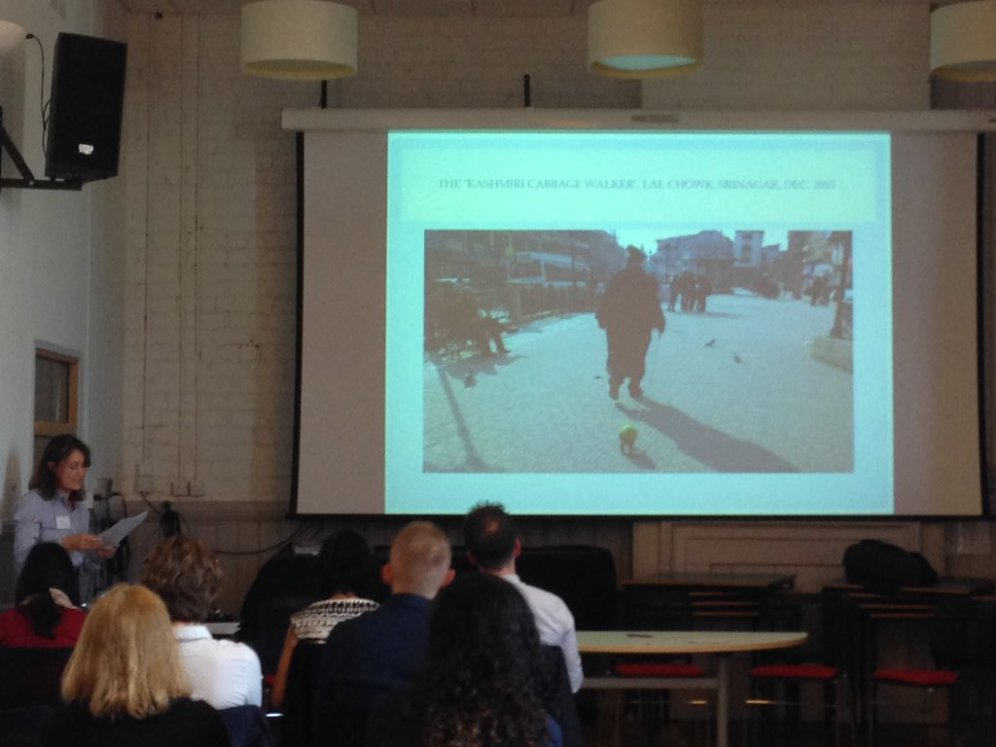 Cathy Turner presents 'An Idea Can't Remain in the Imagination, it Has to Come Out' (Salim 2015): Performing Srinagar'