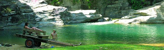 activities puerto galera waterfalls