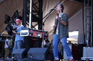 Mac Demarco and Pierce McGarry joked and jested throughout their breezy Saturday set.
