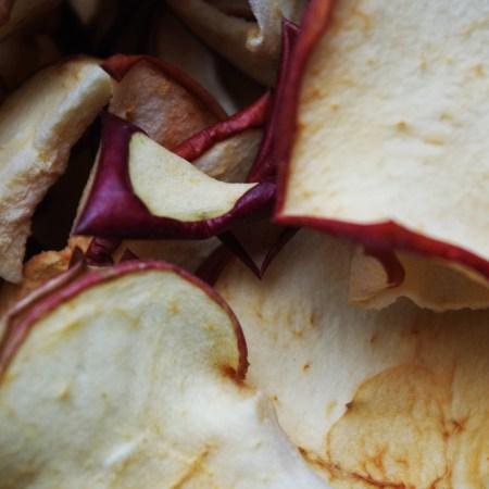 Gedroogde chips