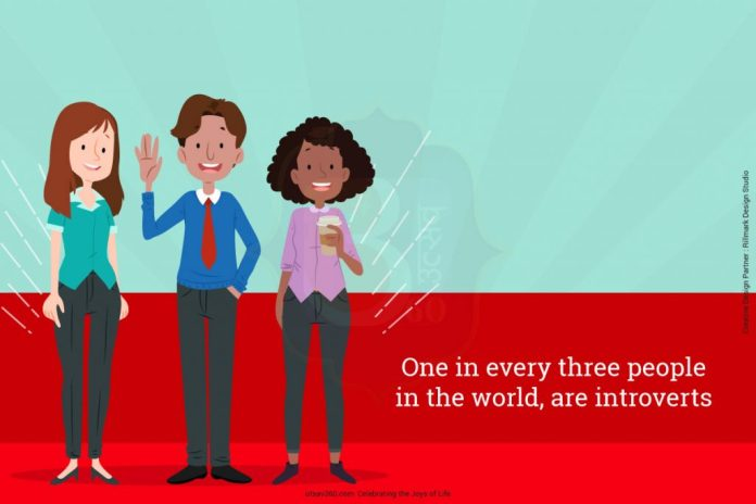 One in every three people in the world, are introverts.