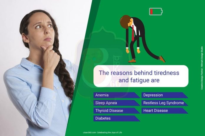 Causes of Tiredness and Fatigue
