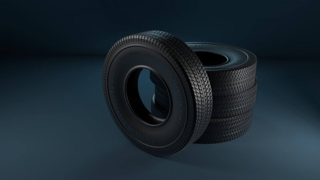 A group of tires