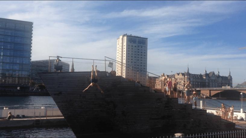 Islands Brygge harbour baths