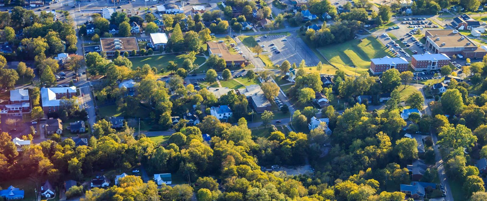 Martin Methodist Aerial View