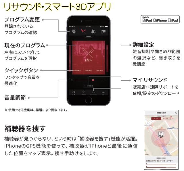 補聴器 リサウンド アプリ