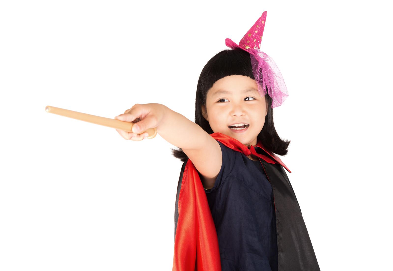 魔法使いの女の子 ハロウィン