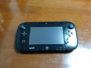 WiiUゲームパッド