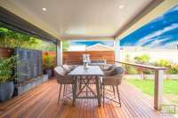 Stratco Cooldek insulated roofing for pergolas, verandahs