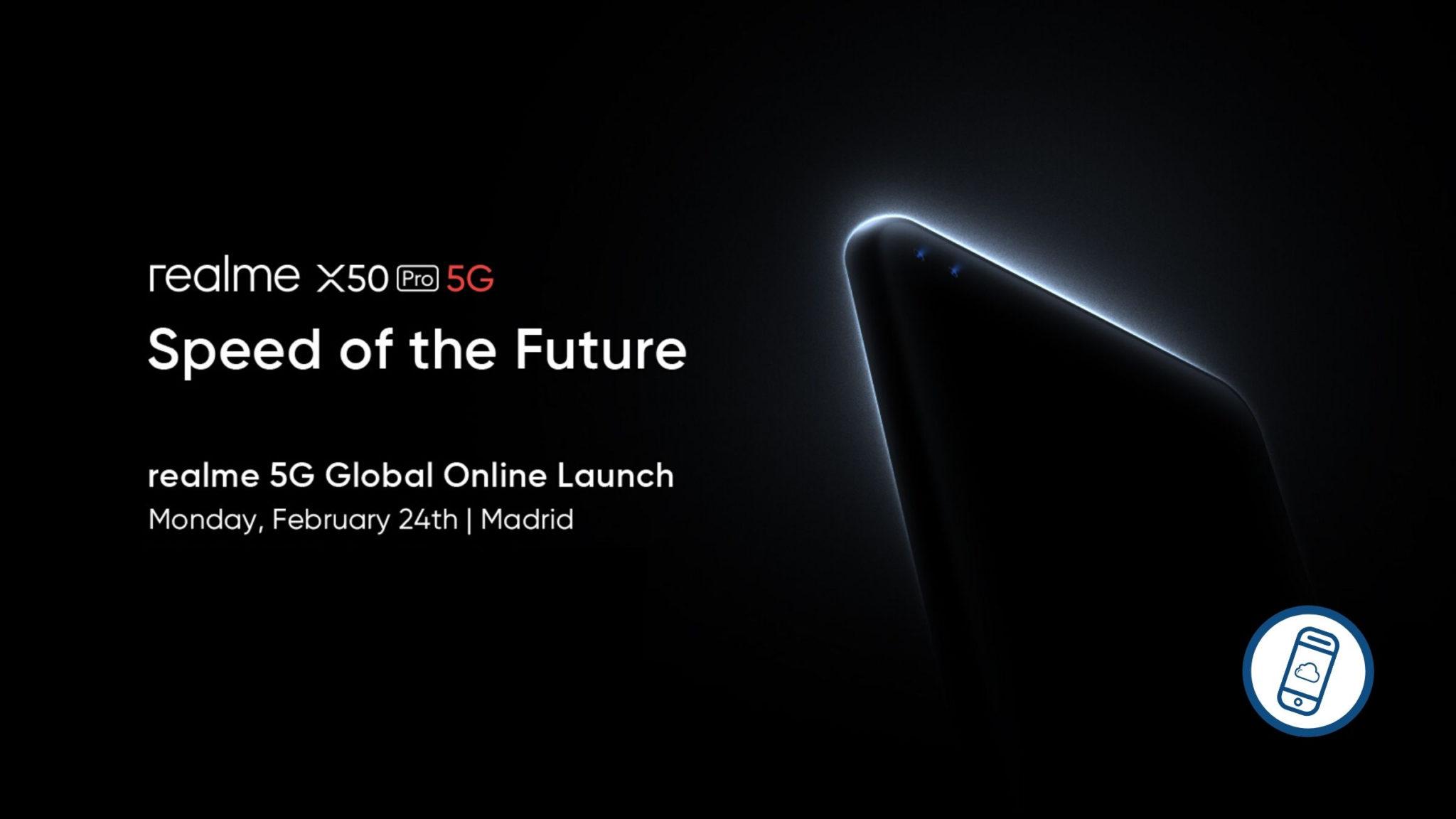 Realme X50 Pro Launch Header
