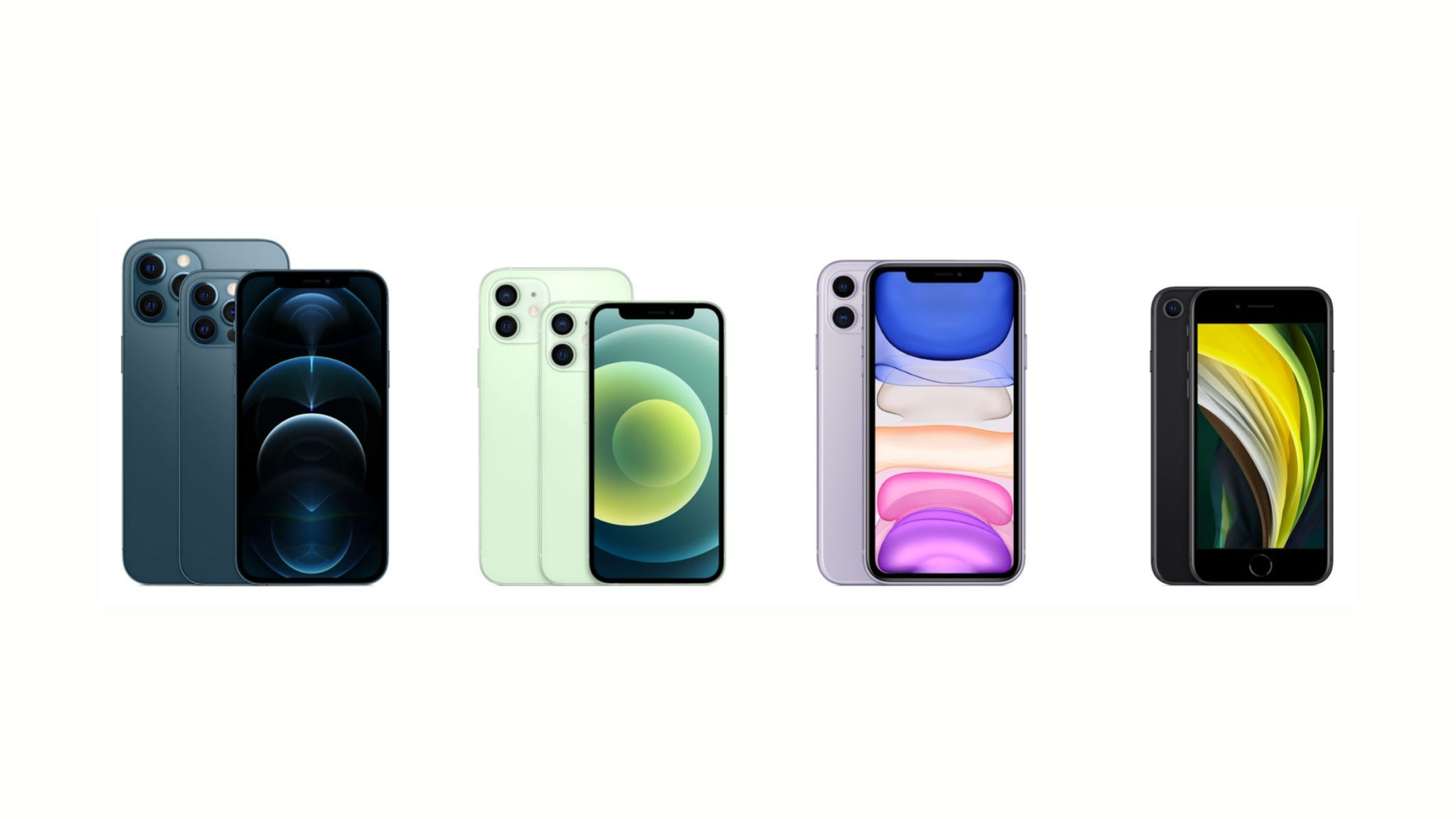 iPhone Lineup Guide Late 2020 Header