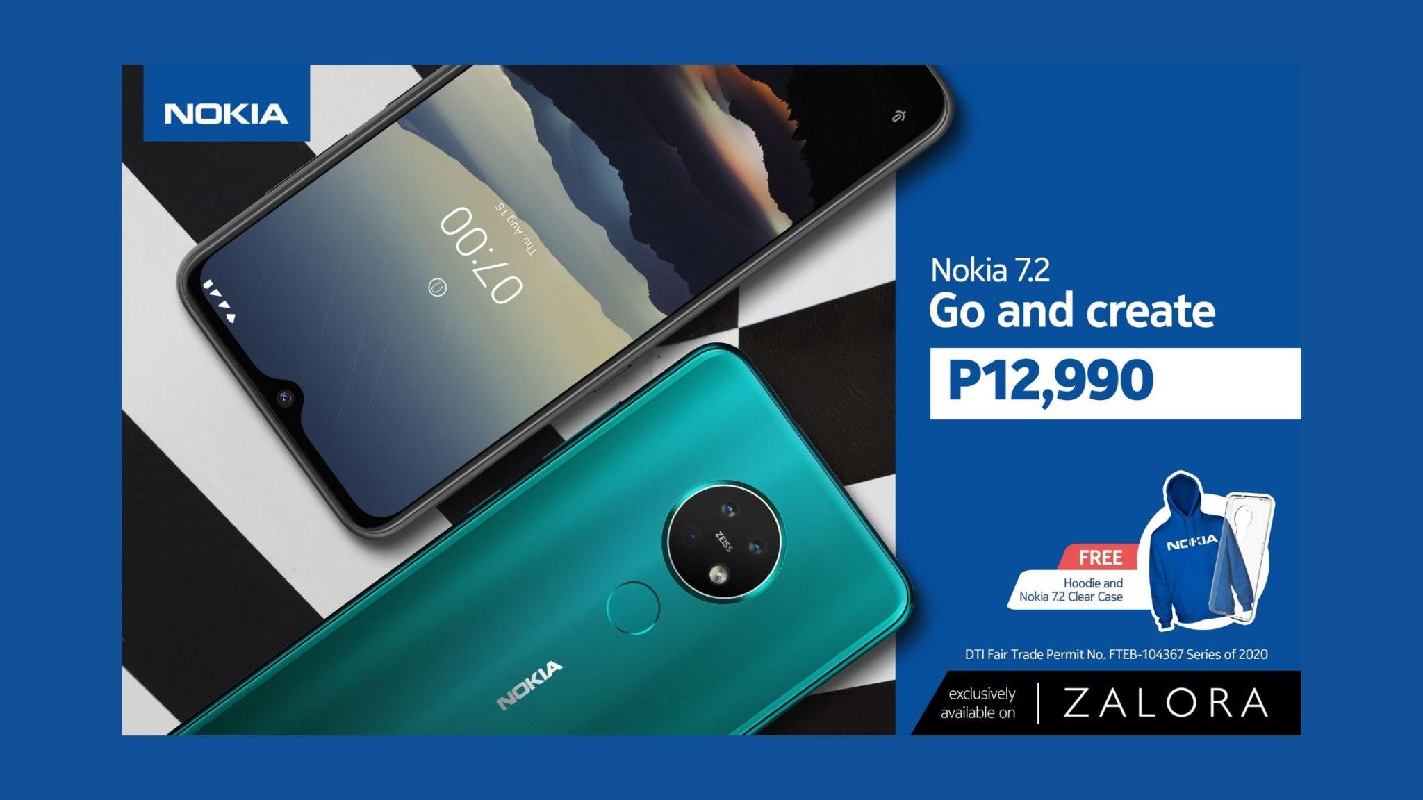 Nokia Smartphones in Zalora Header