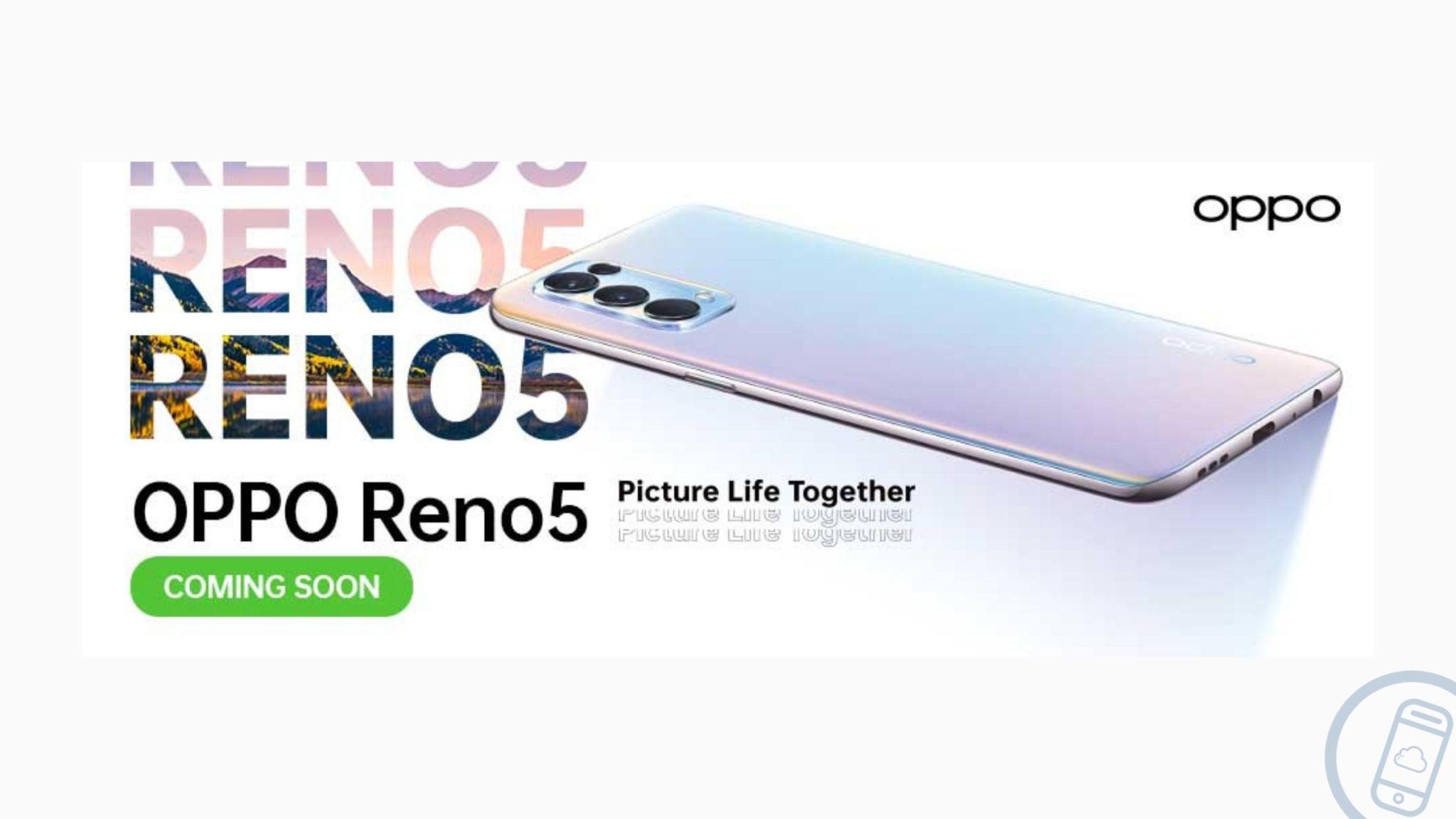 OPPO Reno5 Arriving in February 2021 Header