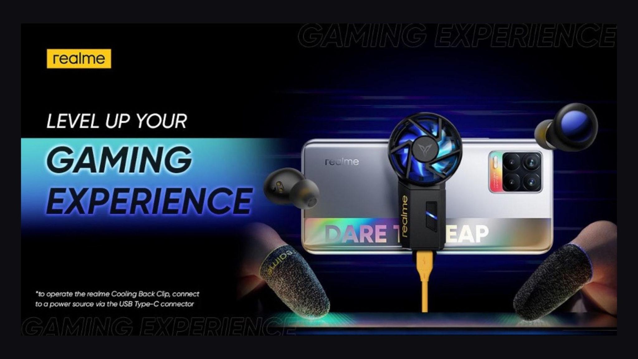 realme Mobile Gaming Kit Header
