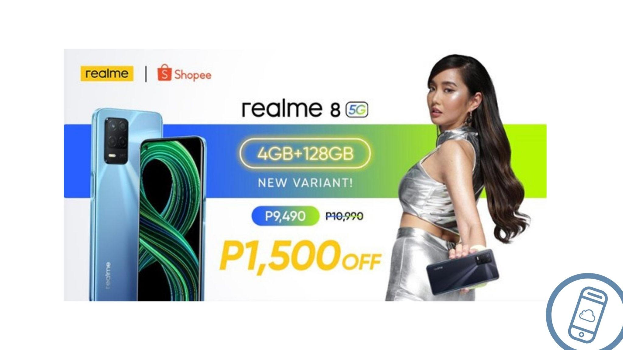 realme 8 5G 4GB + 128GB Philippines Header