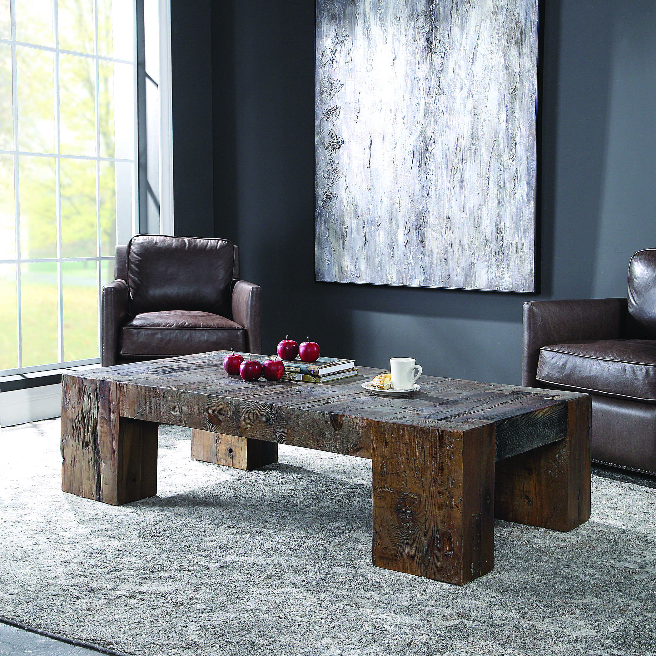 ivena coffee table uttermost