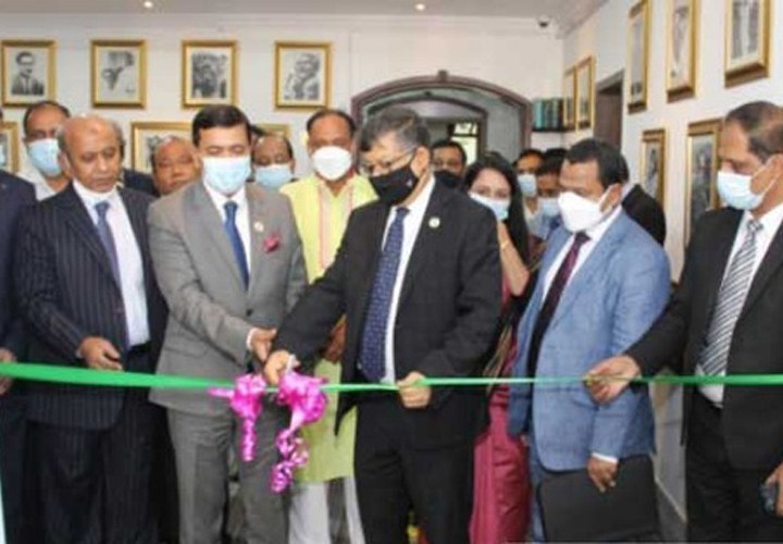 আবুধাবি দূতাবাসে 'বঙ্গবন্ধু কর্নার' উদ্বোধন