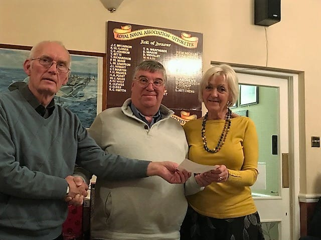 Uttoxeter and District Football League Donation