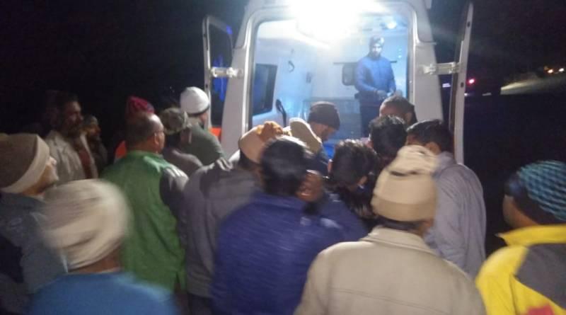 भतरौंजखान हादसा अपडेट:-एक युवक ने तोड़ा दम,तीन अस्पताल में भर्ती 9