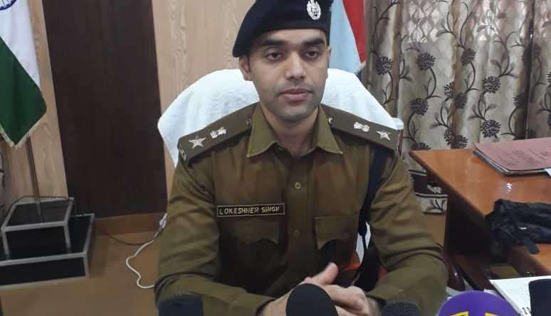 चम्पावत में कप्तान लोकेश्वर सिंह ने संभाला कार्यभार, कहा अपराध नही होगा बर्दास्त 11