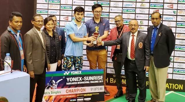 बधाई: लक्ष्य ने जीता इस वर्ष का पांचवा अंतर्राष्ट्रीय खिताब, बांग्लादेश इंटरनेशनल—2019 का एकल खिताब किया अपने नाम, गृह जनपद में खुशी की लहर 3