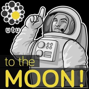 Sticker - UTU Trust - To the moon