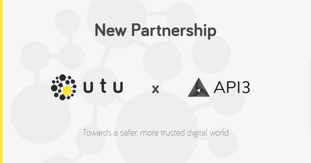 UTU API3 partnership