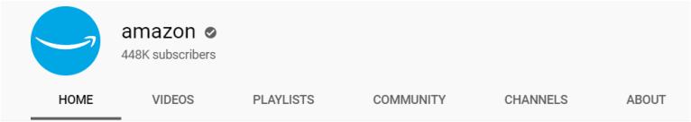 youtube amazon channel