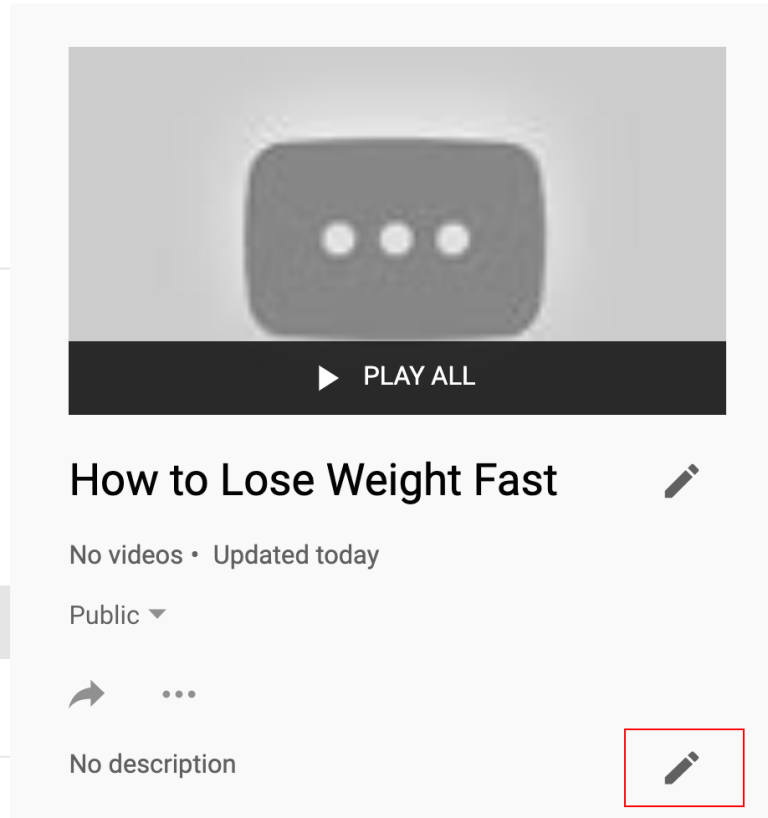 youtube playlist description