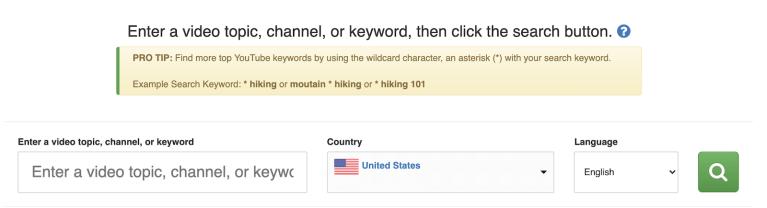 best keywords for youtube