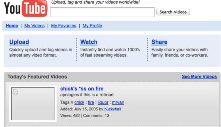 youtube a decadeo ago