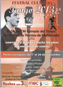 Al Compas del Tango Concurso Tango 2013 UTU Maldonado