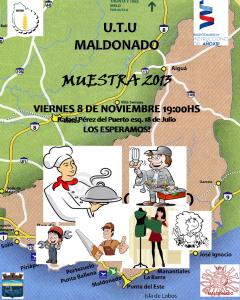 afiche expoUTU 2013