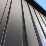 ガルバリウム鋼板壁/補修事例