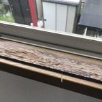 窓枠の補修事例
