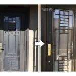 玄関ドア補修塗装