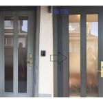 玄関ドア補修塗装ーリフォームするより低コスト