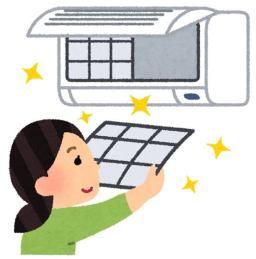エアコン フィルター 掃除 方法