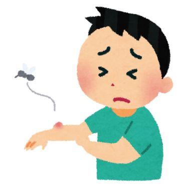 蚊に刺されやすい人 ストレス