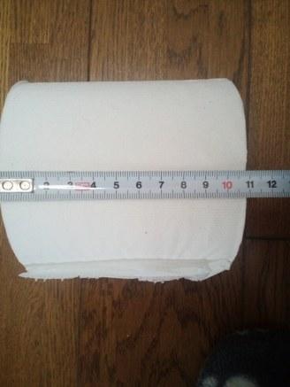 トイレットペーパーの芯のサイズ02