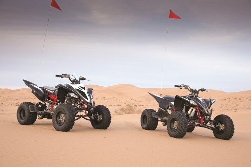 small resolution of shootout yamaha raptor 700 vs yfz450 special editions
