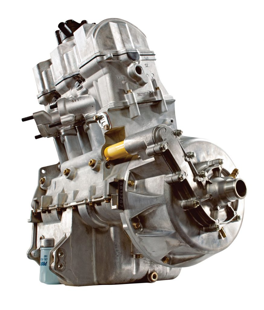 hight resolution of the sportsman 850 s singleoverhead cam eight valve inline twin makes more power