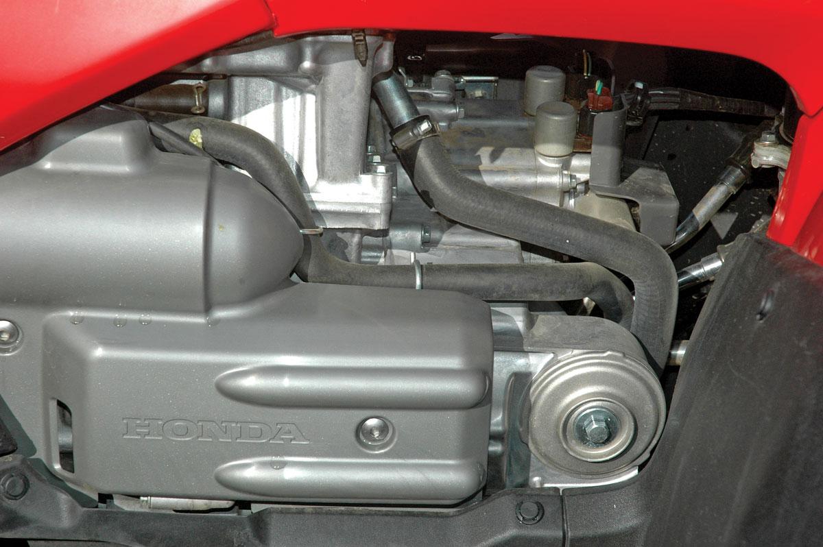 2008 Honda Rincon Manual