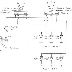 3 Pin Electronic Flasher Relay Wiring Diagram Electrical Diagrams For Multiple Outlets How To Do It Yourself Utv Atv Turn Signals Action Magazine Here S The Schematic Going Directly Battery Allows Operation With Ignition Off