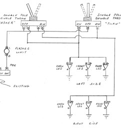 led turn signal wire diagram 7 wiring diagram detailed basic turn signal switch wiring diagram with brake everlasting turn signal wiring diagram [ 5100 x 4295 Pixel ]
